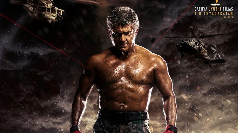 Vivegam is Thala Ajith's third film with director Siva after Veeram and Vedalam.