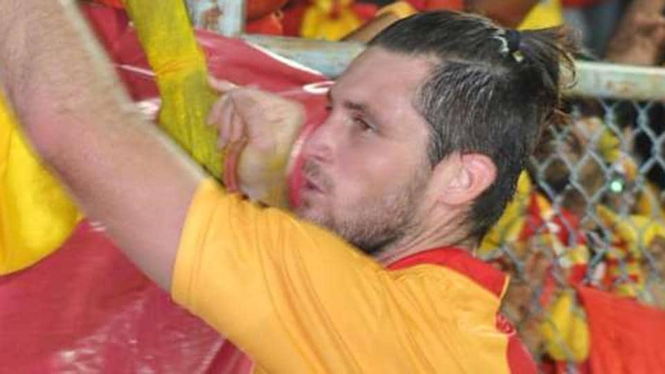 Chris Payne scored twice to guide East Bengal to a 2-1 win over Shillong Lajong in I-League.