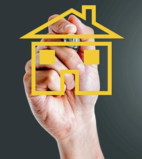 Homebuyers may avail the tax benefits on both house rent allowance and also pay EMI at the same time.