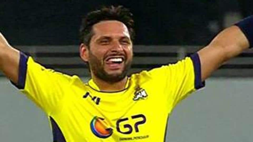 Shahid Afridi,Pakistan Super League,Shahid Afridi Injury
