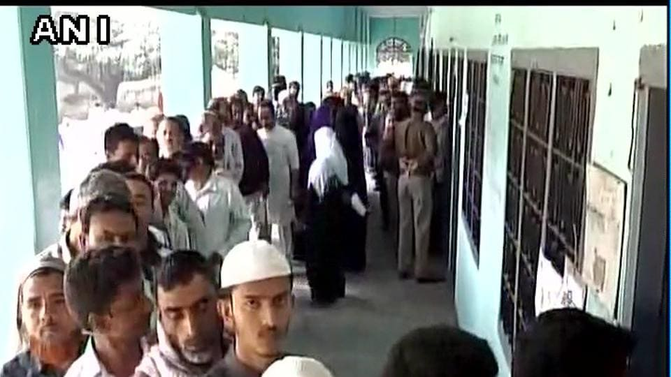 Polling in 49 Uttar Pradesh Assembly seats in the sixth phase, with SP patron Mulayam Singh Yadav's Azamgarh being in focus, started today amidst tight security arrangements.