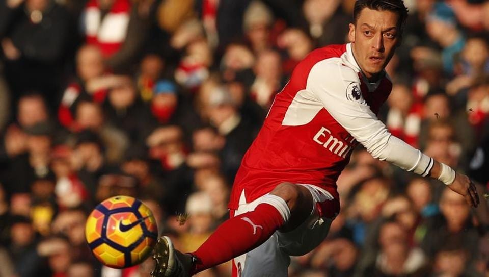 Mesut Ozil, a devout Muslim, was born in Gelsenkirchen and his parents are Turkish immigrants.