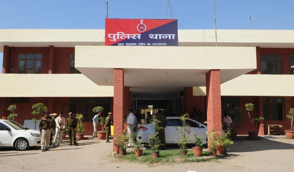 The officer was found dead in the restroom of the Sadar police station.