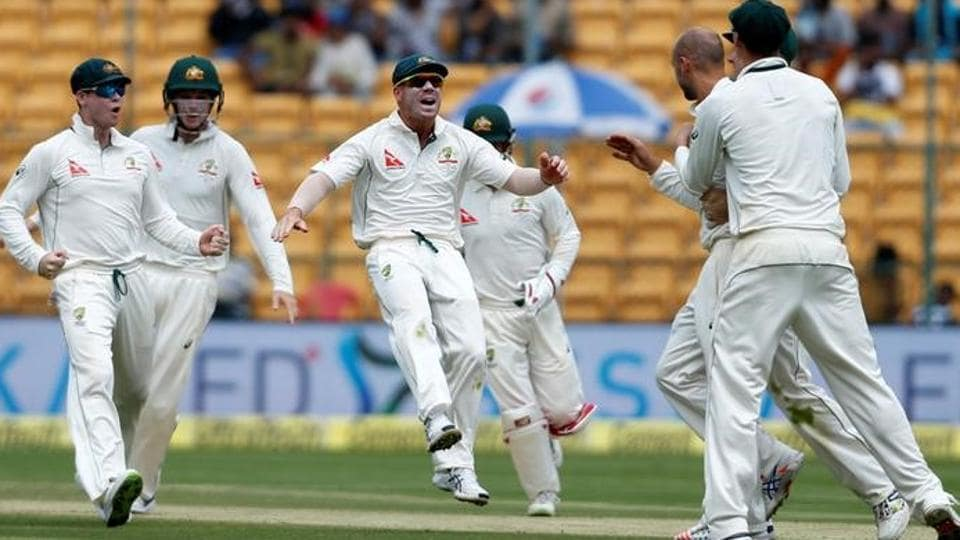 Nathan Lyon took eight wickets as India were bundled out for 189 on Day 1 of the Bangalore Test match.