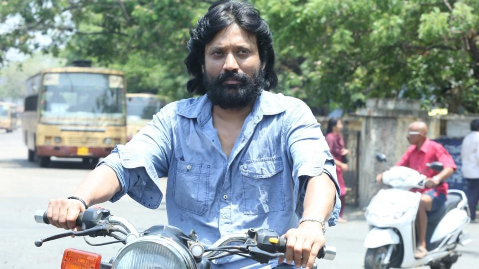 Director-turned-actor SJ Suryah in a still from Iraivi.