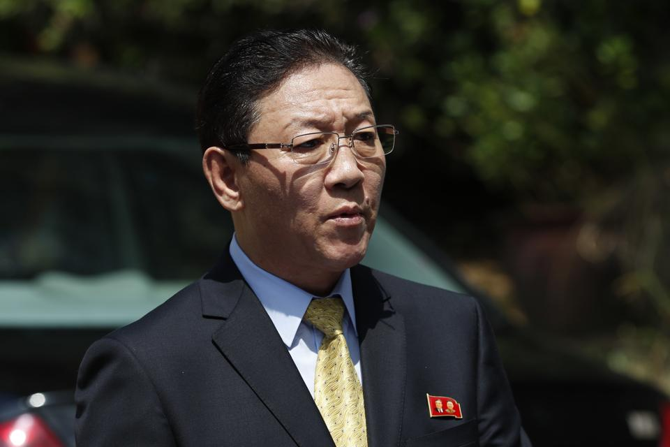North Korea's ambassador Kang Chol had criticised investigations into the murder of Kim Jong Un's exiled half-brother.