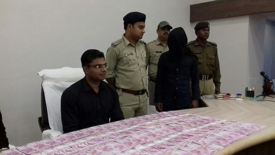 Police recovered 100 fake notes of Rs 2000 denominations from Alam Sheikh, a resident of Malda's Baishnabnagar area.