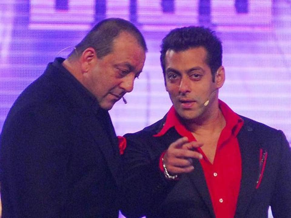 Sanjay Dutt and Salman Khan once hosted Bigg Boss together.