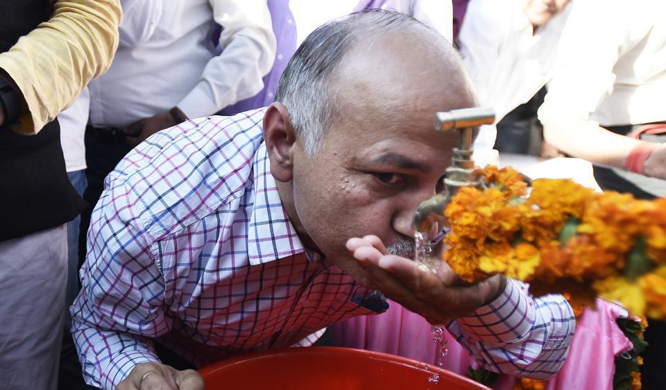 Delhi govt,drinking water in delhi,Navjivan Vihar