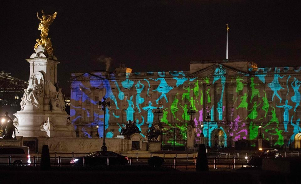 India-UK Year of Culture Celebration at Buckingham Palace in London on Monday.