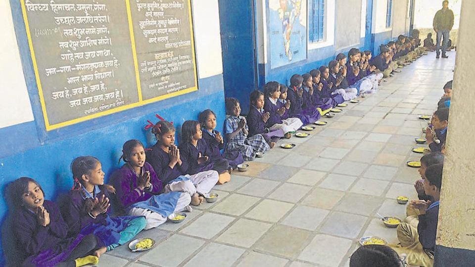 Midday meal scheme (MDMS) is a centrally-sponsored scheme to boost the universalisation of primary education by increasing enrolment, retention and attendance in primary and upper primary classes.