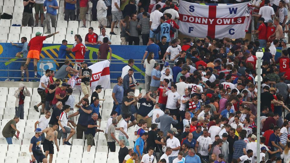 Russian hooliganism came to the fore in the Euro 2016 championships during the team's clash against England.