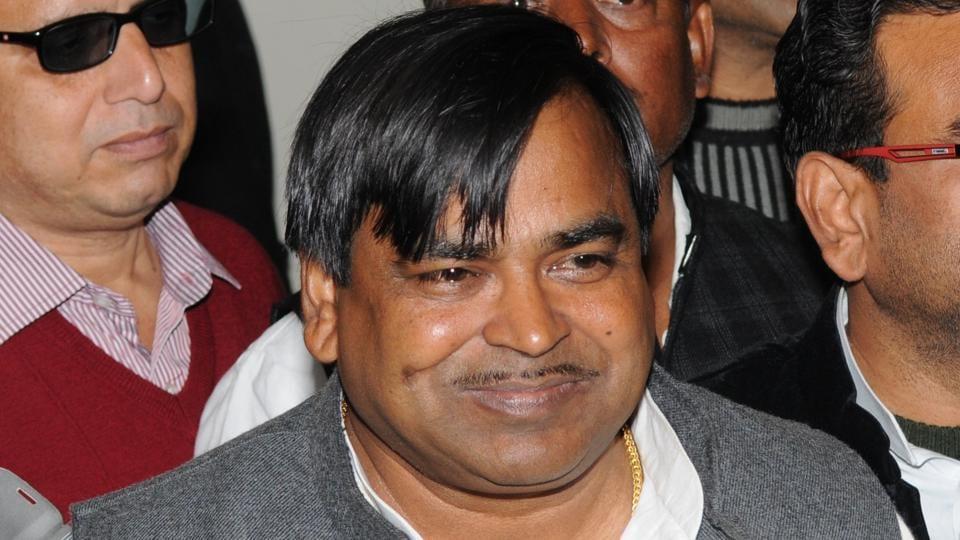 BJP slammed UP chief minister Akhilesh Yadav for not sacking rape accused minister Gayatri Prajapati.