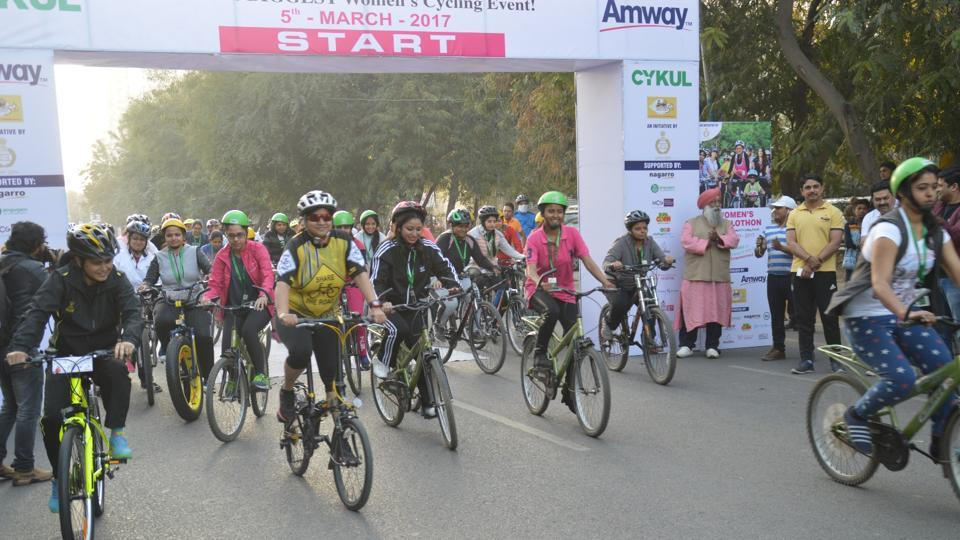 Gurgaon cyclothon,Gurgaon police,MCG