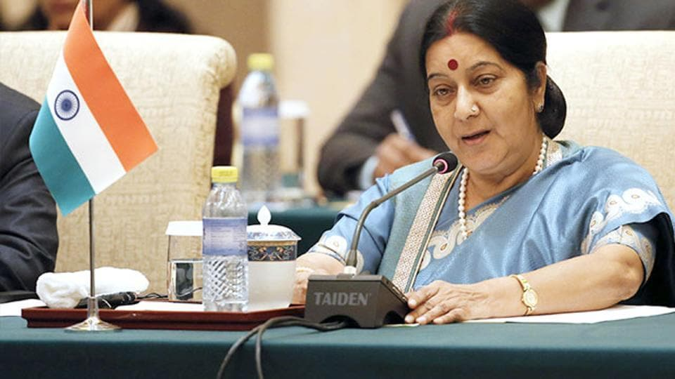 Sushma Swaraj said she had spoken to Deep Rai's family and he is recovering at a hospital.