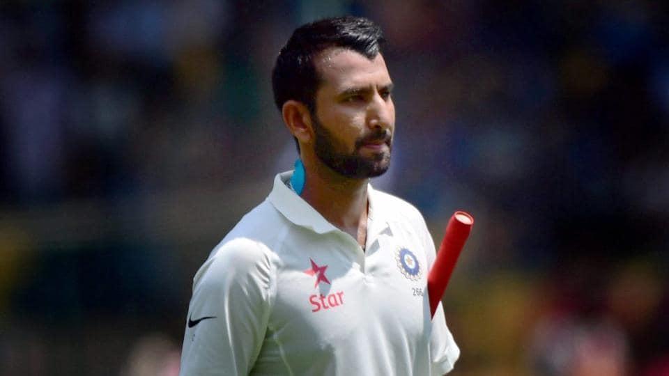 Cheteshwar Pujara himself hasn't had a great Test series against Australia.