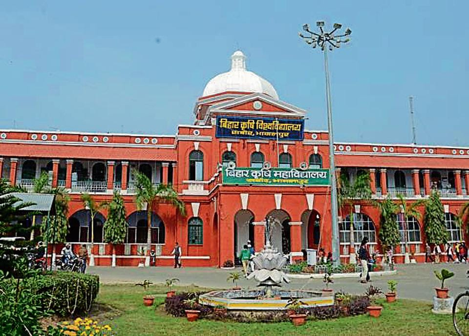 Bihar Agriculture University campus at Sabour in Bhagalpur district.