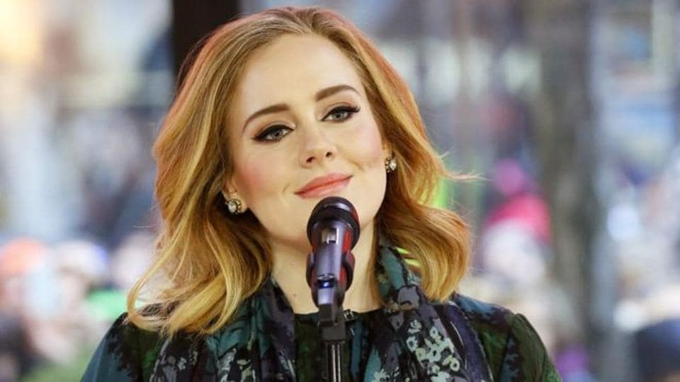 """The announcement follows Adele's thanking of her """"husband"""" following her big win at last month's Grammy awards."""