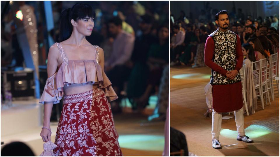 Like always, Manish impressed everyone with his traditional designs. (HT Photo/Prodip Guha)