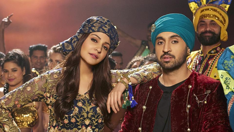 Anushka Sharma raps in the Phillauri song, Naughty Billo, crooned by Diljit Dosanjh.