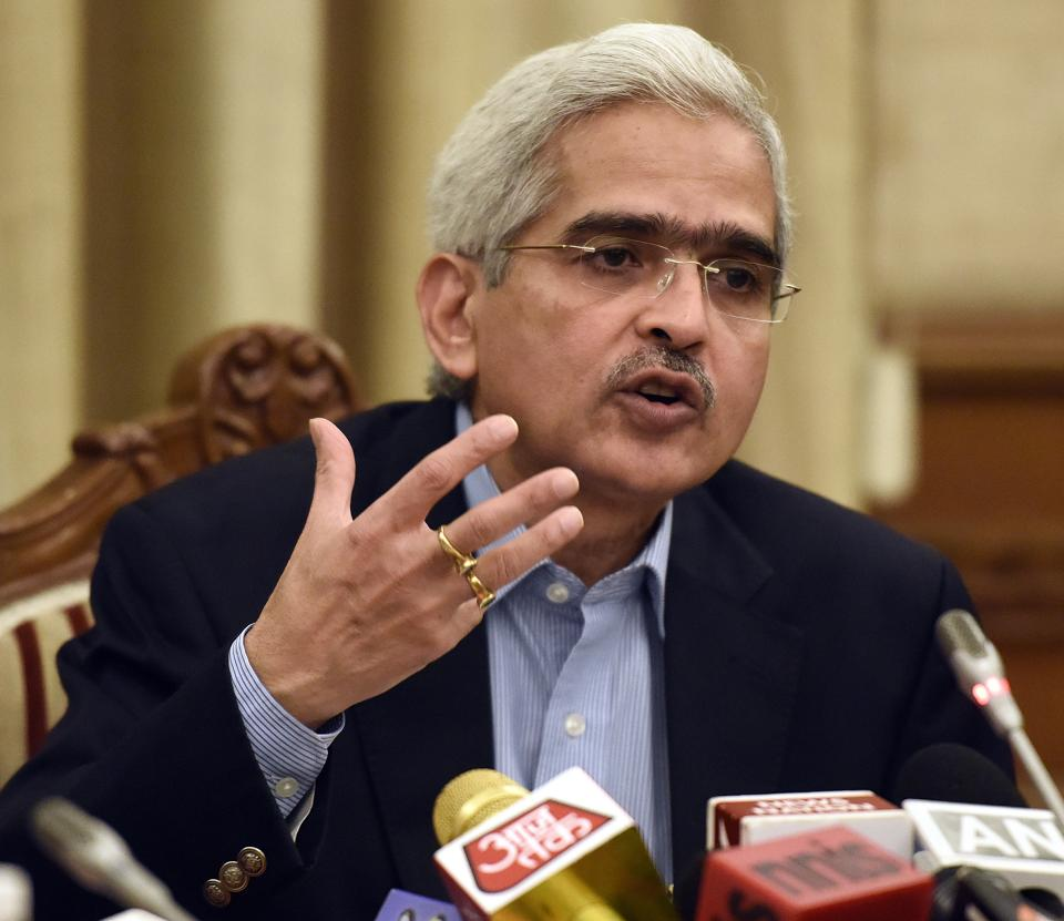 Former economic affairs secretary Shaktikanta Das.