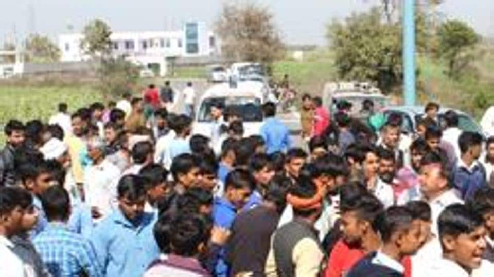 Police rejected any communal angle to the incident and said it might be a case of road rage.