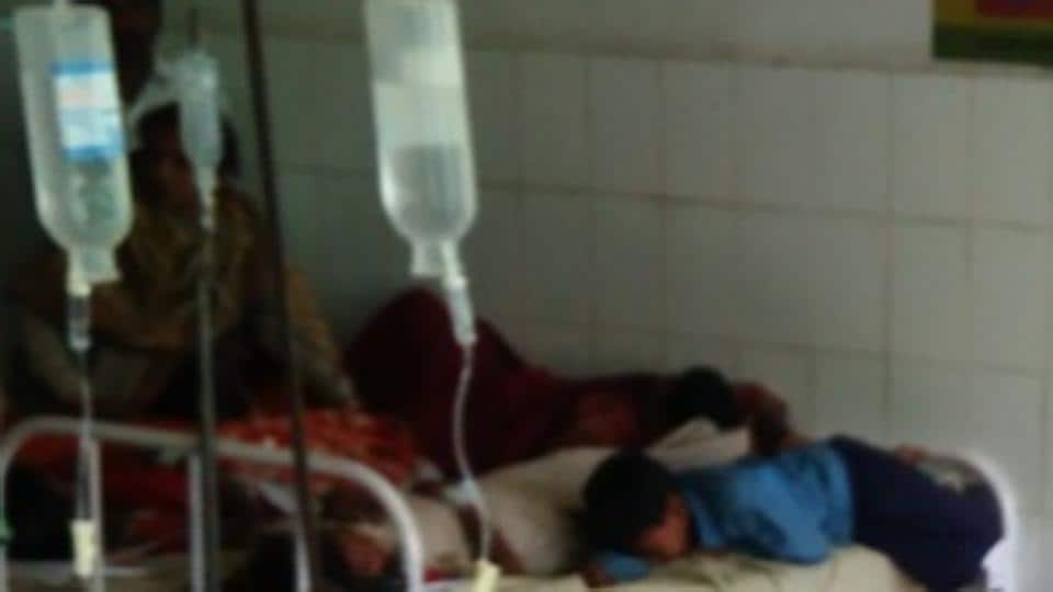 Most of the sick children are being treated at the madrasa while one has been referred to the sadar hospital.