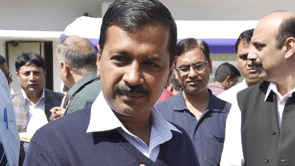 Chief minister of Delhi Arvind Kejriwal