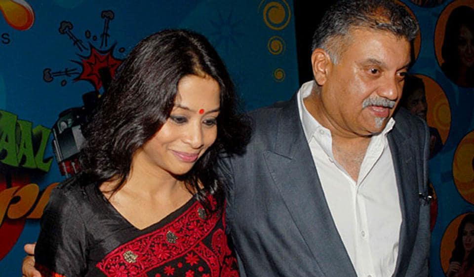 Peter Mukerjea with his wife Indrani.