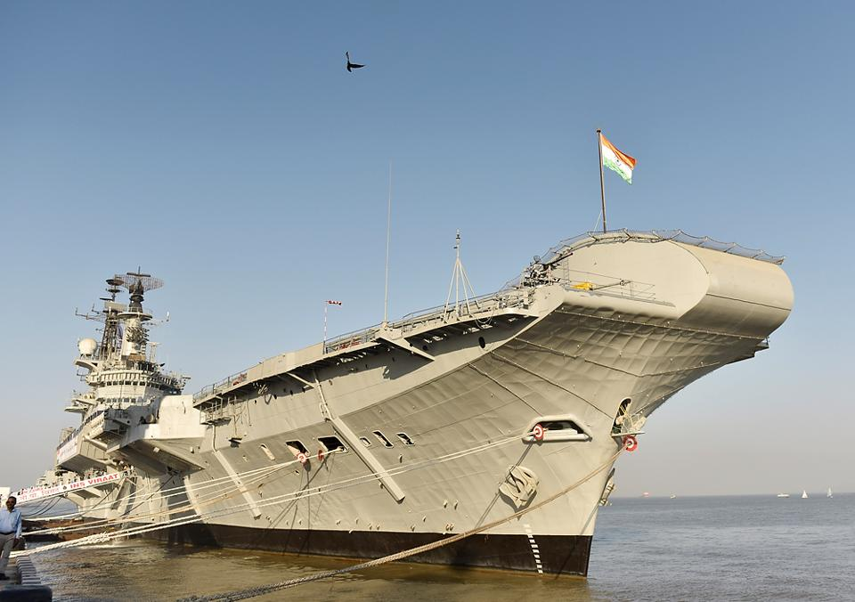 INS Viraat, the oldest serving aircraft carrier was decommissioned at Naval Dockyard in Mumbai on March .