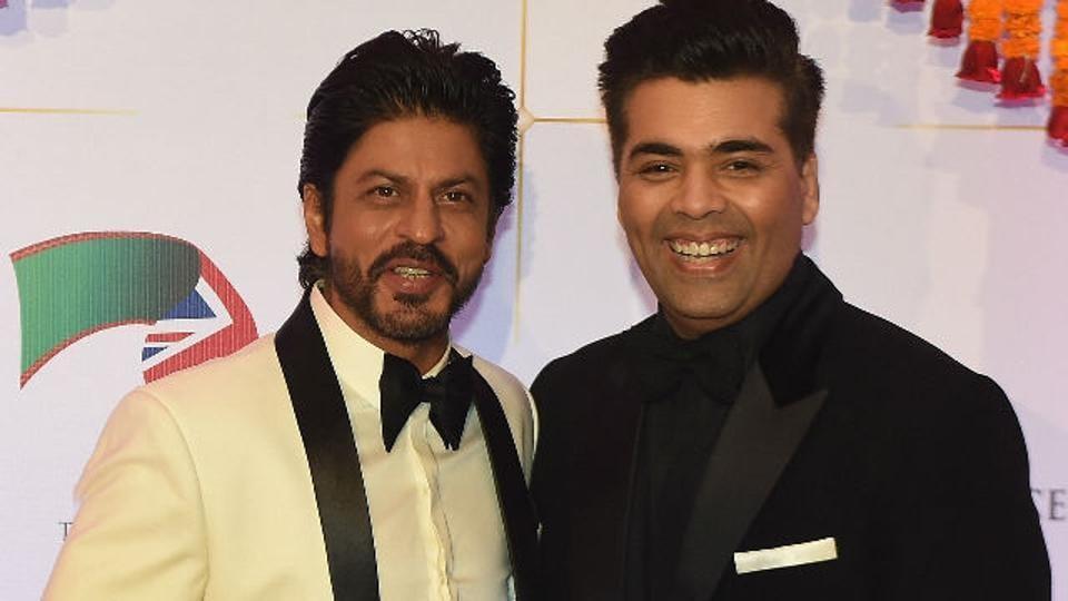 Karan Johar and Shah Rukh Khan are very close friends.