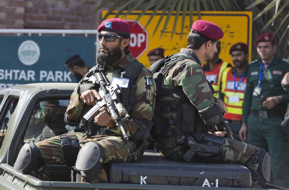 Pakistani security officials said the two Taliban terrorists were planning to target a Sufi shrine in Pakpattan district of Punjab province.