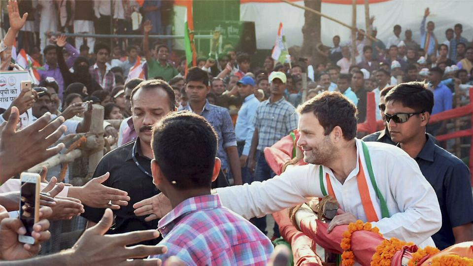 To boost the morale of the party workers, the Congress has planned a convention at Ramlila Maidan on Tuesday, which is to be addressed by Rahul Gandhi, party vice-president.