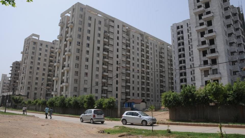 The RWA of Monsoon Breeze condominium said residents have been using a narrow village road to reach the sector since they moved in three years ago.