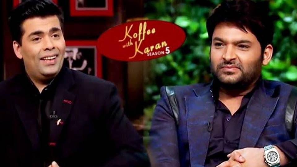 Kapil Sharma made his debut appearance on Karan Johar's talk show, Koffee with Karan on Sunday, March 5.
