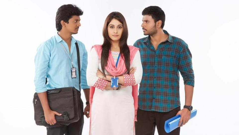 Lokesh Kanagaraj-directed Maanagaram is an urban Tamil thriller.