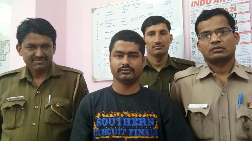Stalker arrested