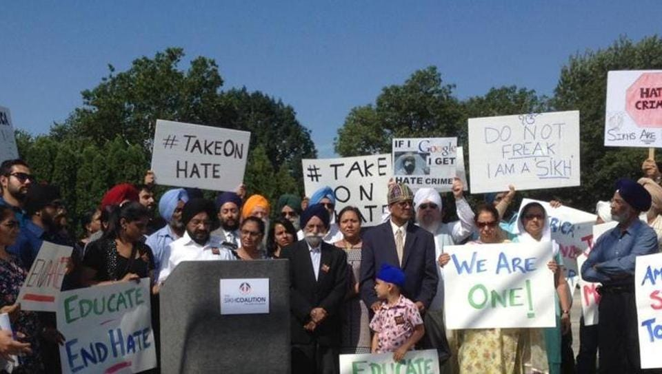"""In the latest attack, Deep Rai, a US Sikh national of Indian origin and was shot outside his home in Kent, Washington on Friday by a masked gunman who shouted """"go back to your own country""""."""