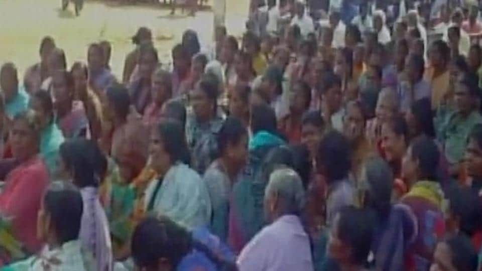 Hundreds from fishermen community sat in protest on Tuesday against the alleged killing.