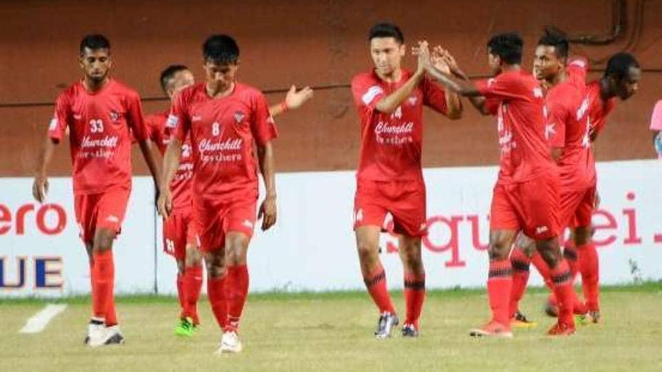 East Bengal FC,Churchil Brothers SC,I-League