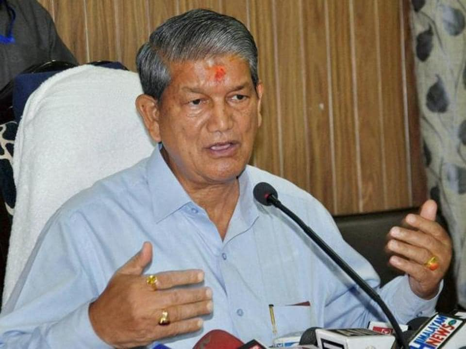 Chief minister Harish Rawat led the Congress campaign in Karnaprayag.