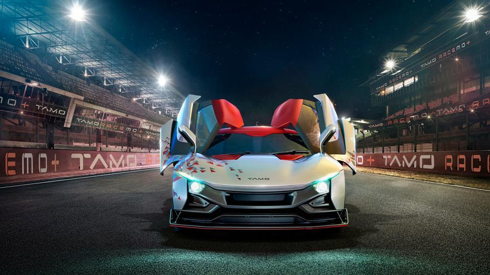 Tata Motors showcased a concept sports car under its sub-brand TAMO  -- Racemo -- at the Geneva International Motor Show on Tuesday.