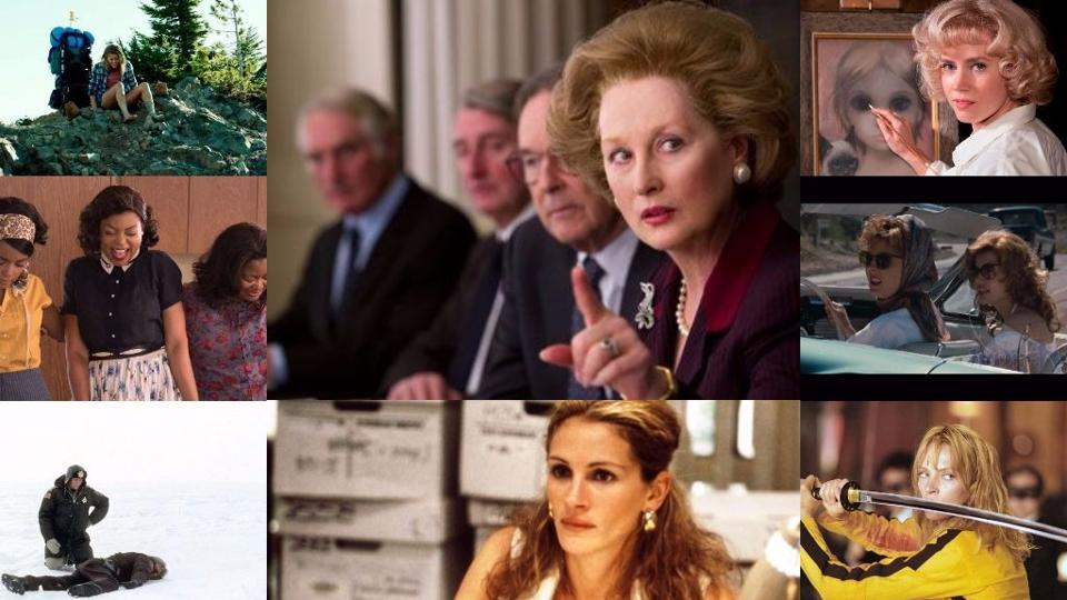 From Meryl Streep's Iron Lady to Julia Roberts' Erin Brokovich, 10 films to watch on Women's Day.