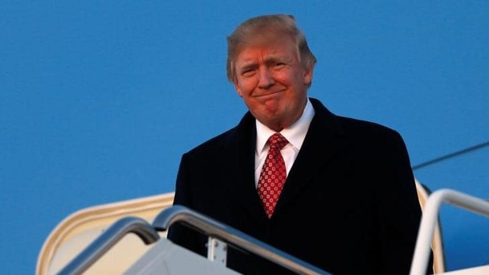 US President Donald Trump in Florida, at Joint Base Andrews, Maryland, US. Trump has offered to maintain federal funding for Planned Parenthood if the group stops providing abortions.