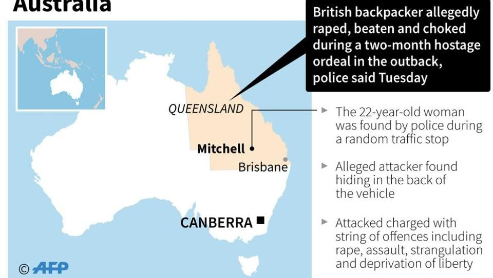 British backpacker raped,Australia,Backpackers
