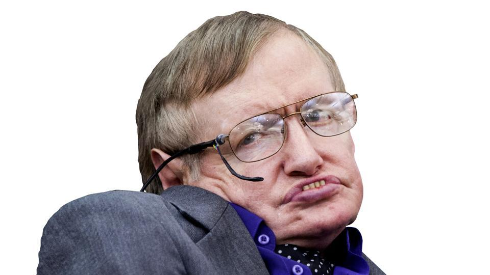 File photo of physicist Stephen Hawking making an appearance to show support for the Breathe On UK charity in London in April 2013.