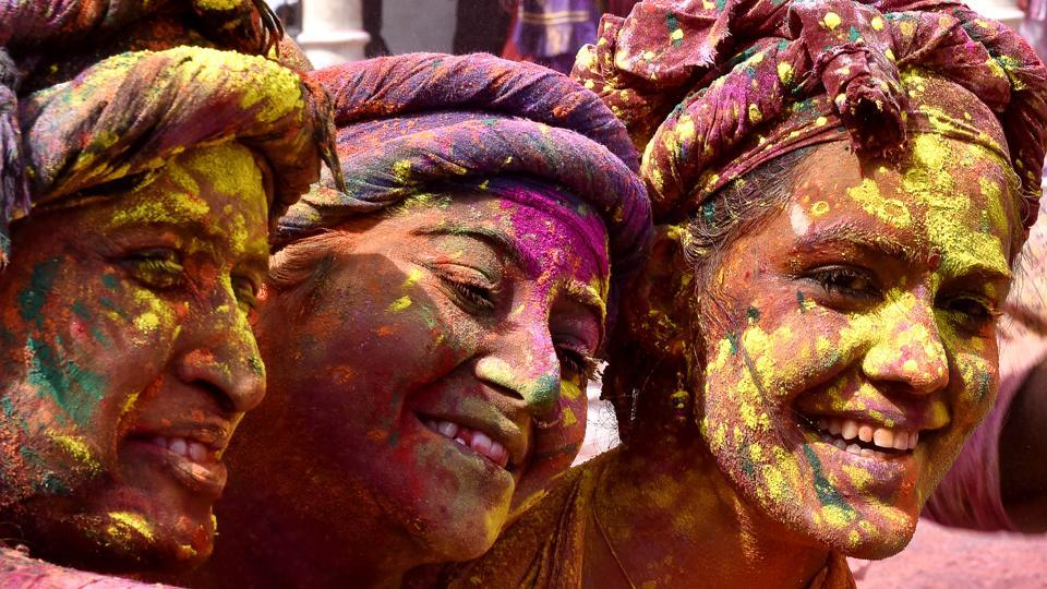 This festival is attracts a large number of visitors every year. (Ajay Aggarwal/HT PHOTO)