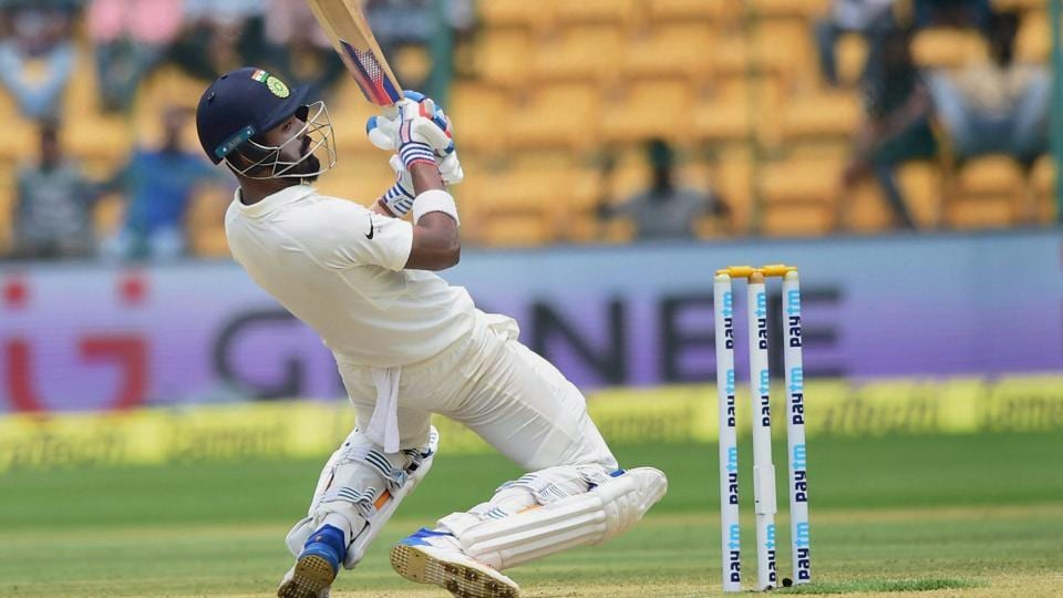 Local lad and India cricket team opener KL Rahul was named the Man of the Match of the second Test vs Australia cricket team at M Chinnaswamy Stadium on Tuesday. Rahul was the most consistent batsman for the hosts, scoring a 90 in the first innings and 51 in the second when accomplished batsmen from both the teams were failing. (PTI)