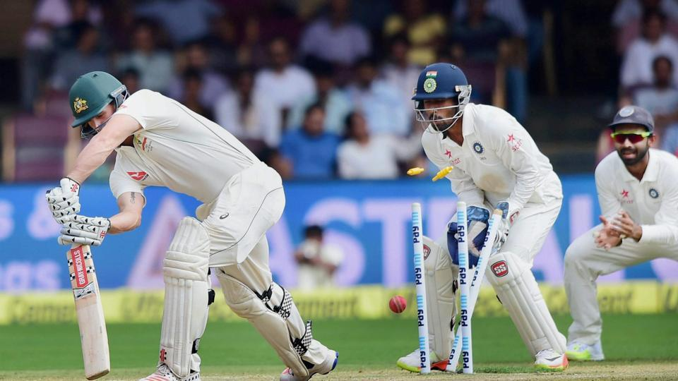 Australia's loss to India in the Bangalore Test have continued their struggled in the fourth innings of a Test match while chasing a small total.