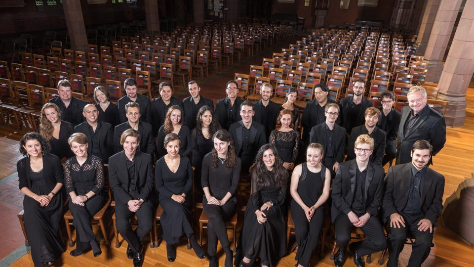 Institute of Sacred Music Yale University's Schola Cantorum